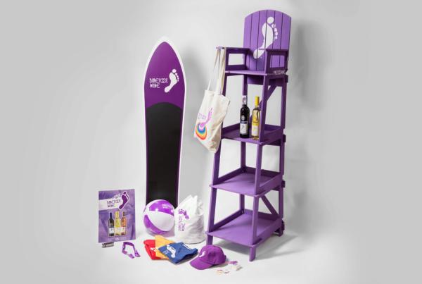 Barefoot Wine Merchandise Part 2 Lifeguard chair
