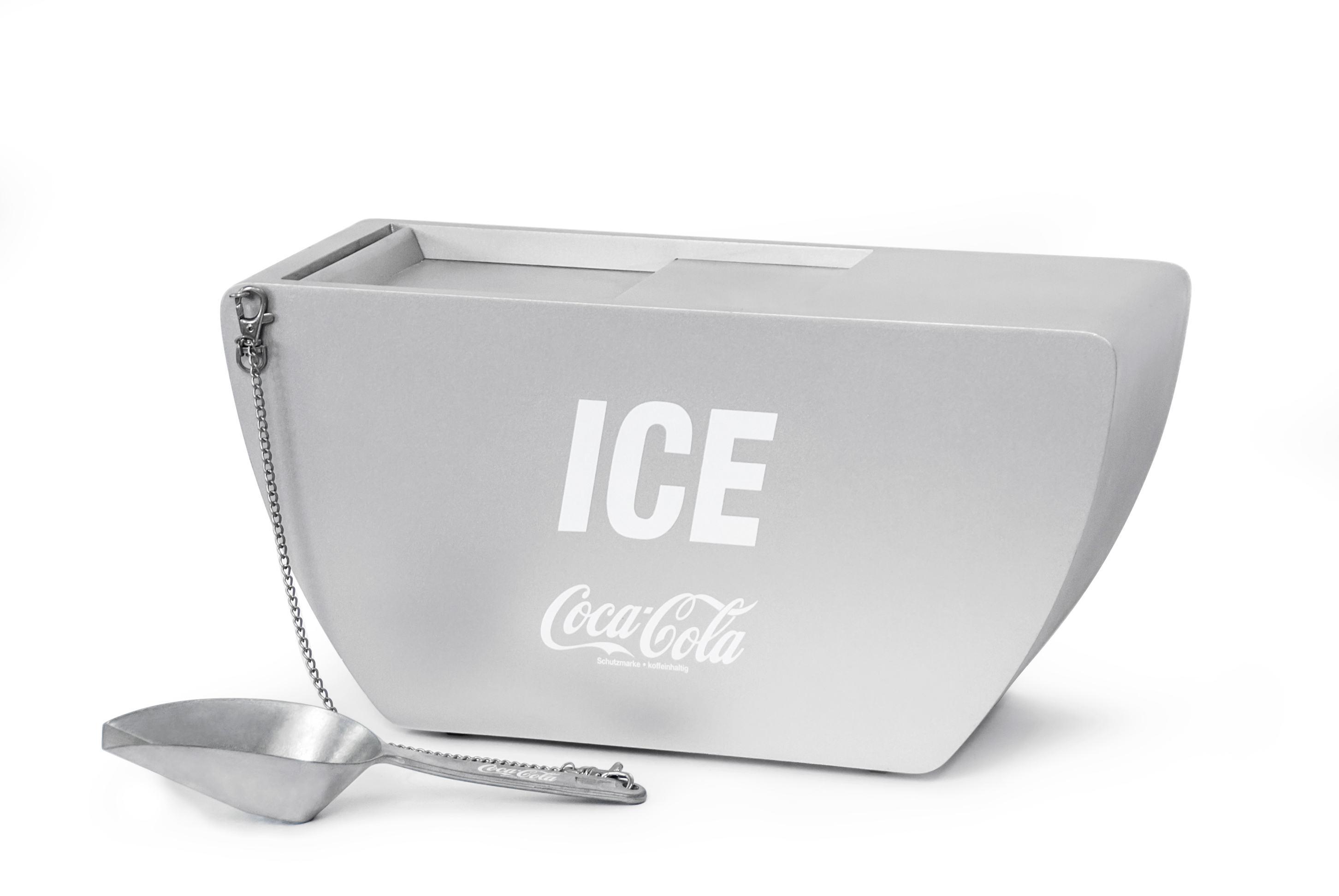 Coca Cola Silver-Edition Ice Bucket