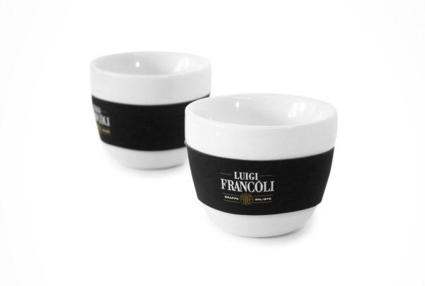 Luigi Francoli - Espresso Tasse Keramic Ceramic Rubber Gummi On-Pack