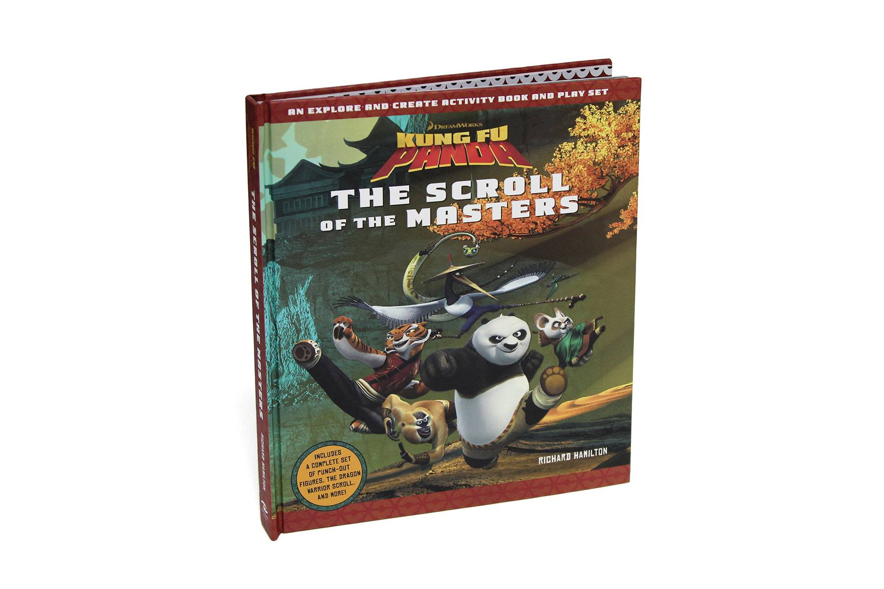 Kung Fu Panda - The Scroll of the Masters Trivia Book Buch Trivial Wissen Knowledge 2 On-Pack Co-Pack Druck Print Verpackung Schachtel Karton Packaging Box Starlite Veredelung Finish UV-Lack Colour 4c