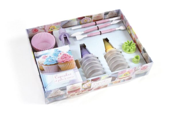 Verpackung Cupcakes On-Pack Co-Pack Druck Print Verpackung Schachtel Karton Packaging Box Starlite Veredelung Finish UV-Lack Colour 4c
