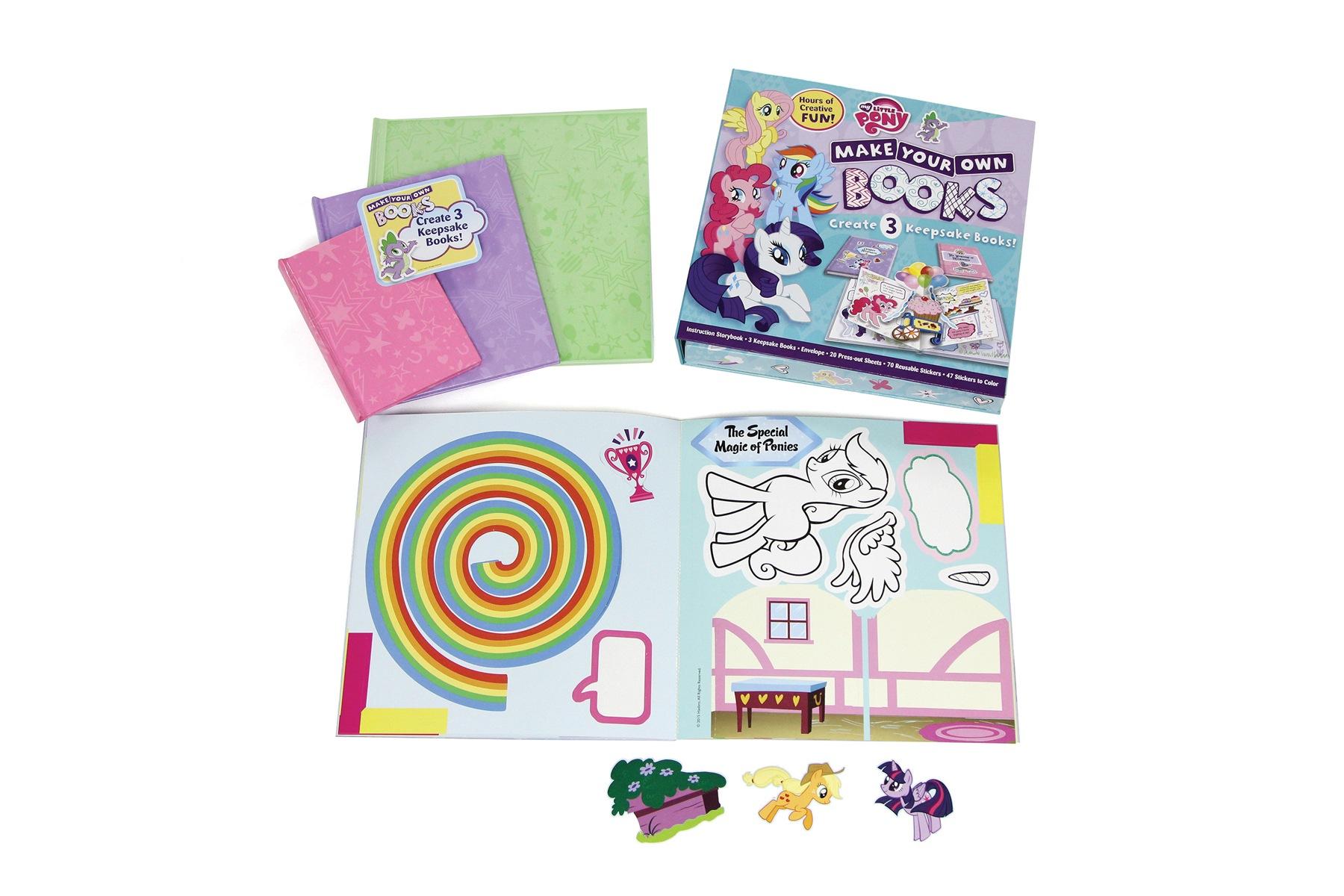 Bastel Set Craft book Buch Druck Print Starlite Kinder Children Learning Schoolbook Schulbuch Colour 4c Veredelung Finish