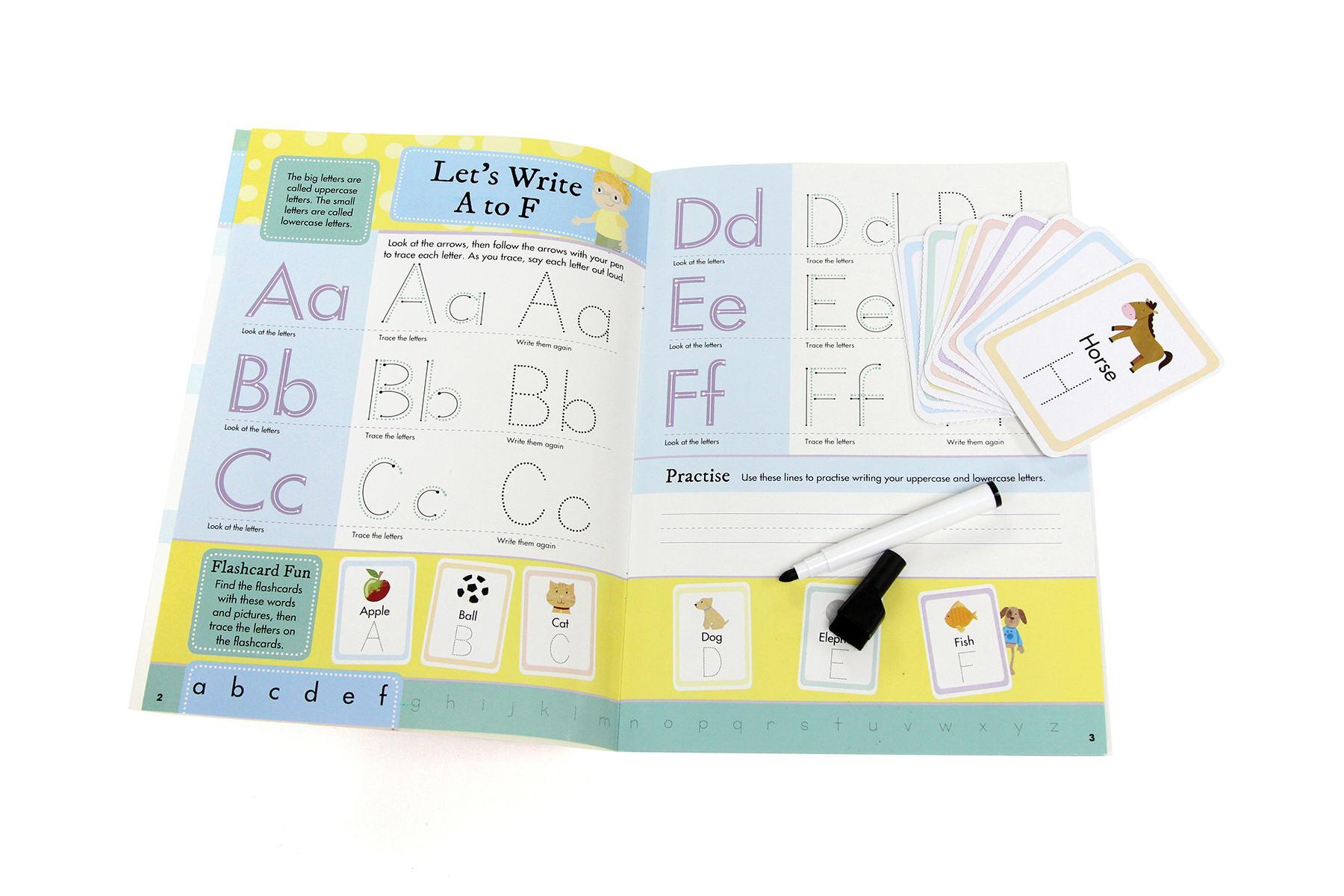 Vorschule Kinder Kids Children Preschool Buch Lernbuch Book Lesen Schreiben reading writing Schulbuch