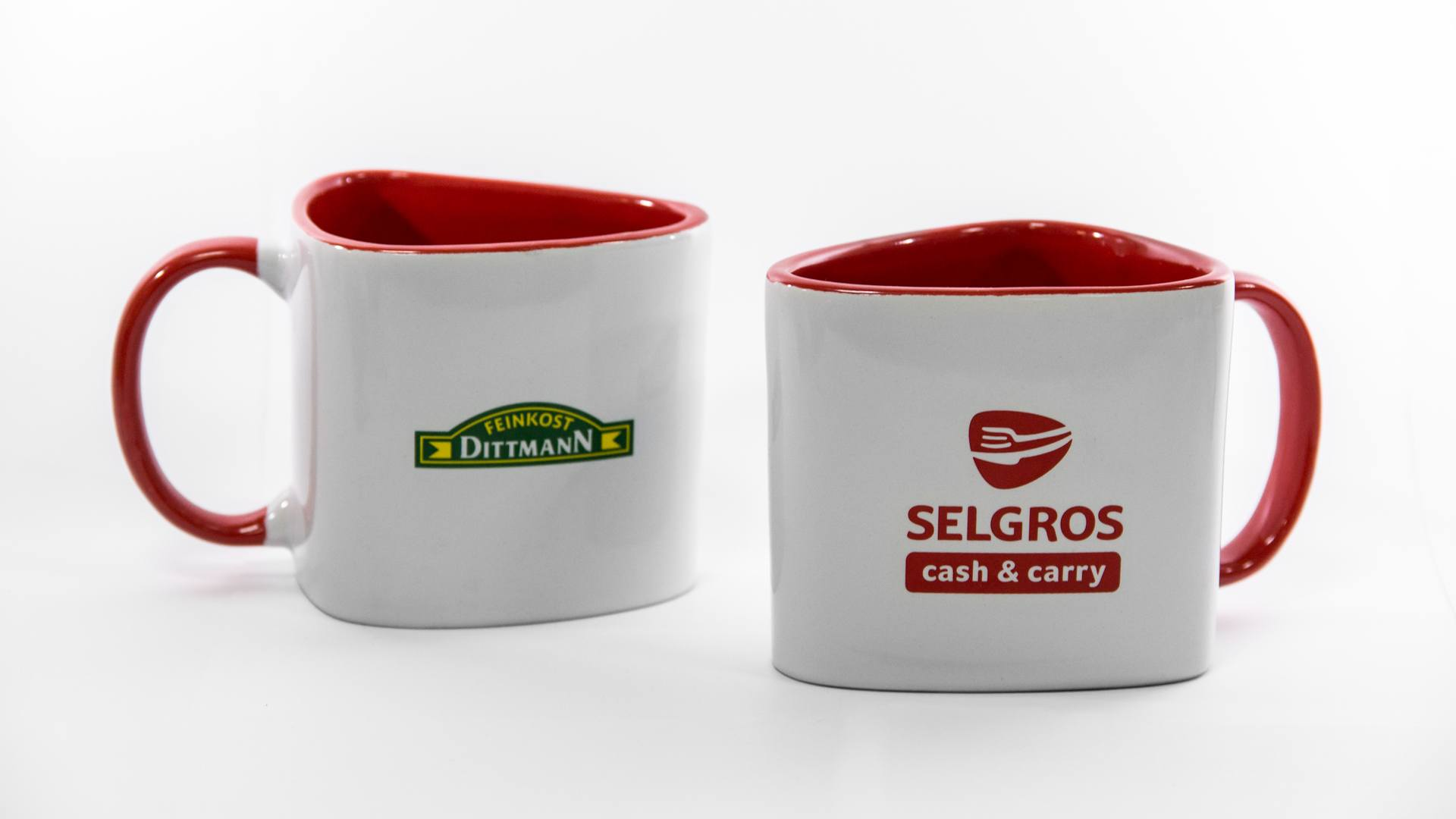 Selgros - Tasse in Sonderform