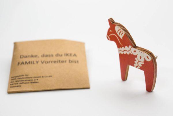 Ikea Dalapferd Dala Horse Anstecker Anstecknadel